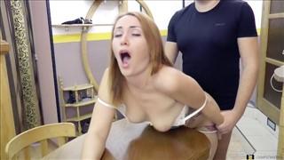białe majtki porno