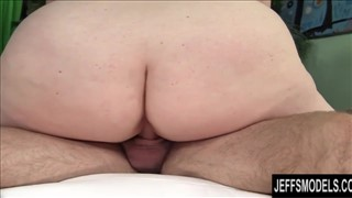 Tłuste anal creampie