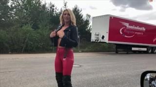 Obciąganie na ulicy