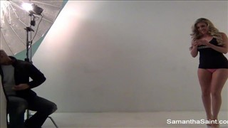 Samantha Saint ma sterczące cycki
