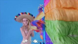 Kristy May w kapeluszu dobrze ciągnie fiuta