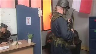 Polski seks na lotnisku