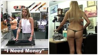 Seks w sklepie z fajną dupeczką