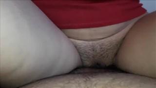 Seks z piękną modelką w apartamencie