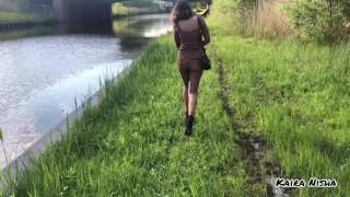 Publiczny seks z egzotyczną prostytutką